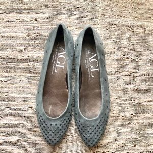 AGL Suede Flats